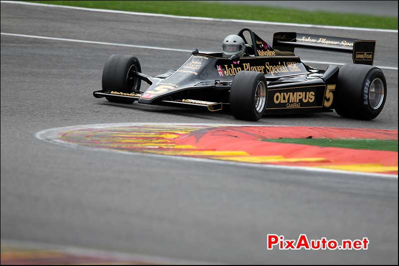 Formule1 Lotus 79/2, circuit Spa-Francorchamps