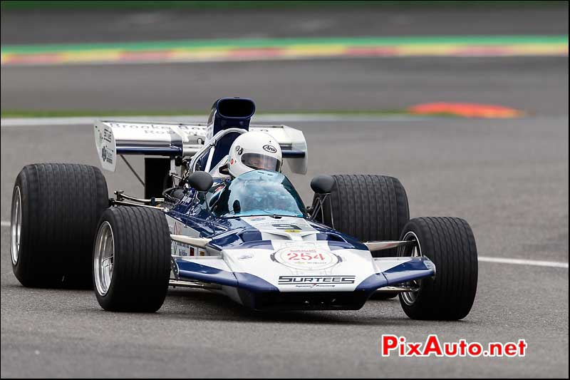 Formule1 Surtees TS9, circuit Spa-Francorchamps