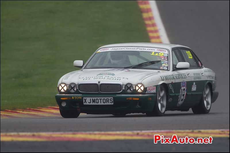 Jaguar XJ6, raidillon Spa-Francorchamps
