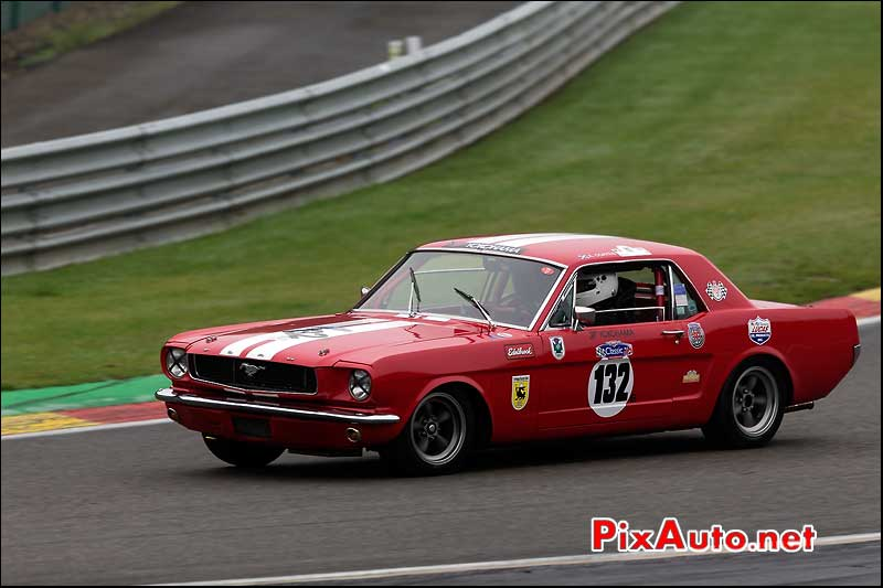 Ford Mustang, circuit Spa-Francorchamps