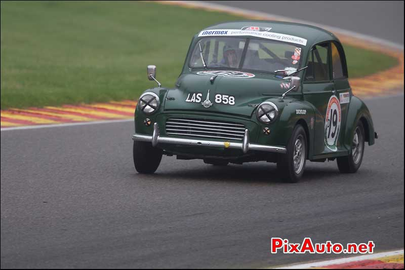Morris Minor GT, raidillon Spa-Francorchamps