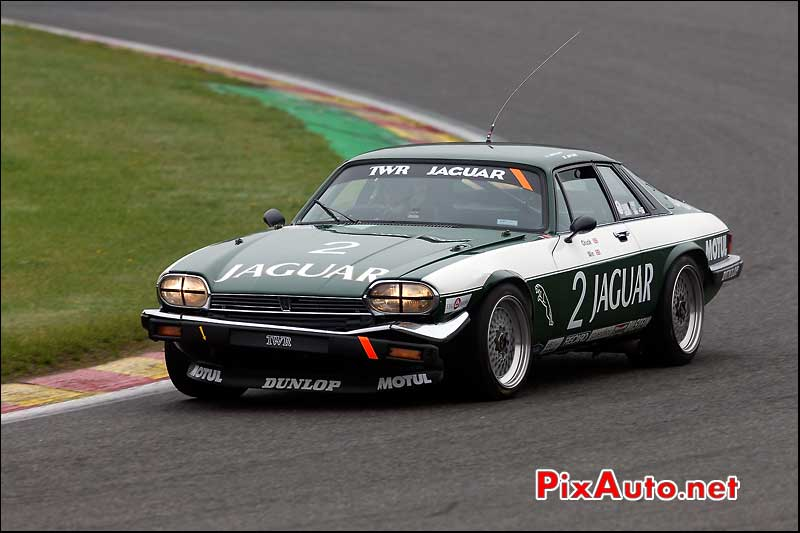 Jaguar XJS, raidillon circuit Spa-Francorchamps