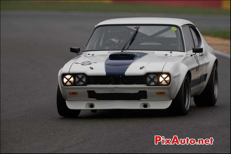 Ford Capri, circuit Spa-Francorchamps