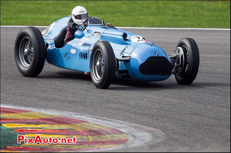 monoplace Talbot Lago Type 26, Historic-Grand-Prix-Cars-Association