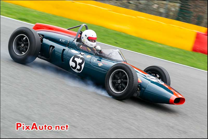 monoplace Cooper T53, Historic-Grand-Prix-Cars-Association