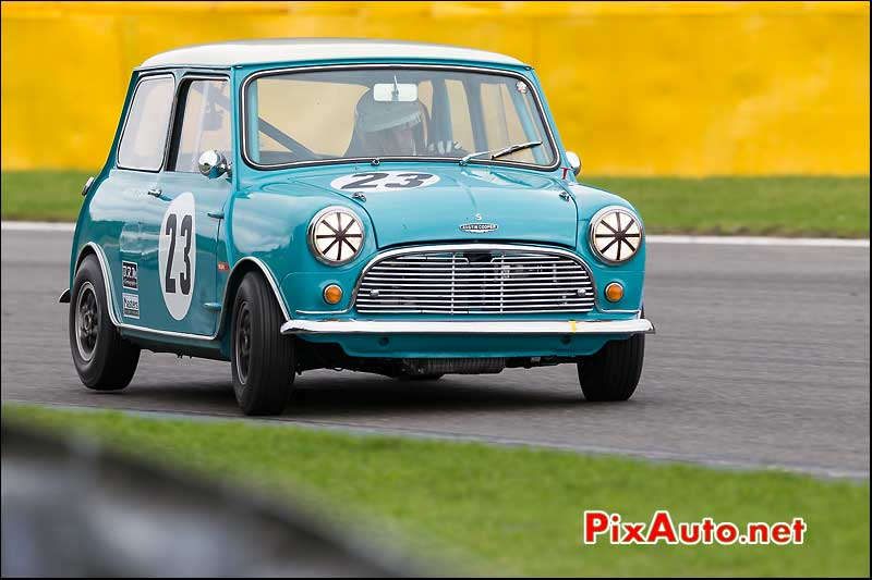 Austin Mini Cooper S, Master Touring Cars, Spa-Francorchamps