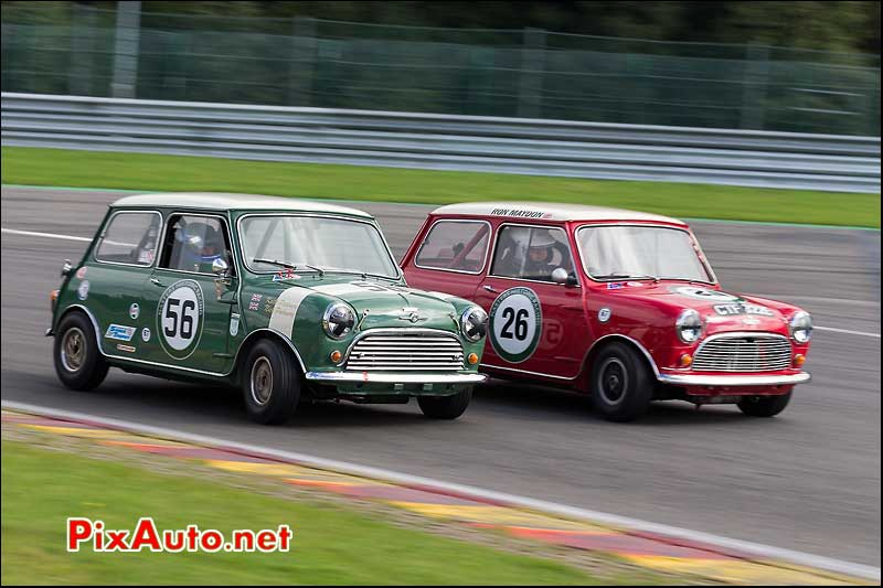 Austin Mini Cooper, Master Touring Cars, Spa-Francorchamps