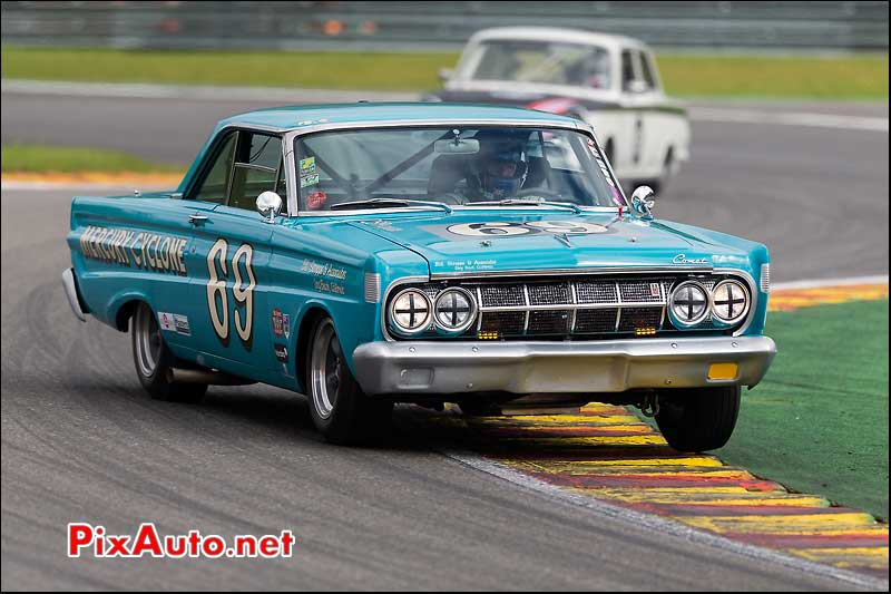 Mercury Comet Cyclone numero69, Master Touring Cars, Spa-Francorchamps