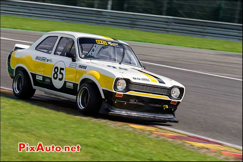 Ford Escort RS numero85, Master Touring Cars, Spa-Francorchamps