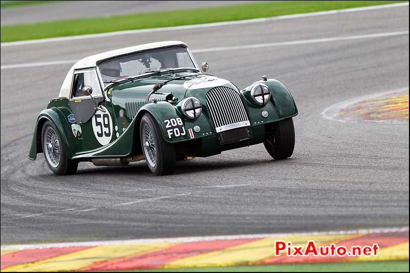 Morgan SuperSport numero59, pre-63 Spa-Francorchamps S6H