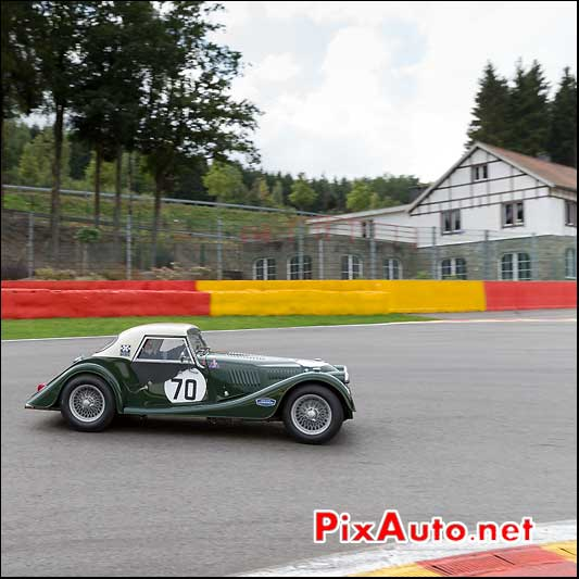 Morgan SuperSport numero70, pre-63 Spa-Francorchamps S6H