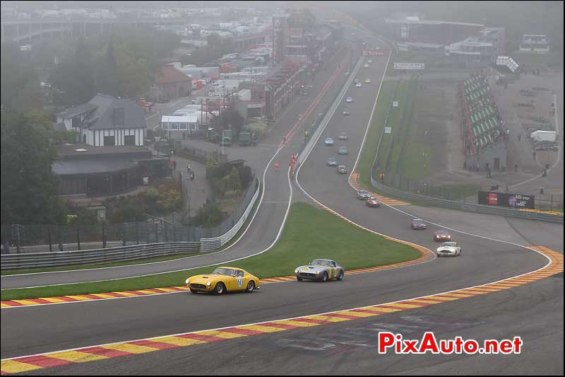Start race pre-63 Spa-Francorchamps S6H 2013