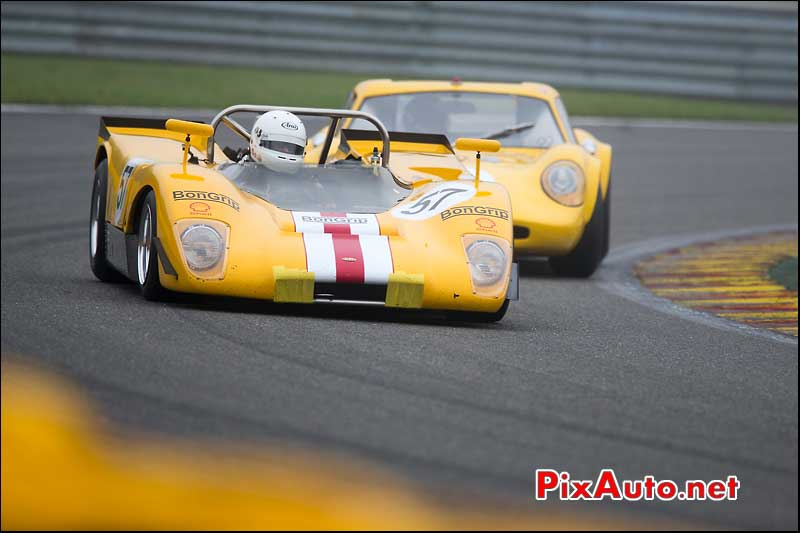Prototype Lola T210, circuit Spa-Francorchamps, S6H