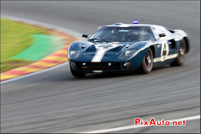 Ford-GT40 numero4, Spa-Six-Hours