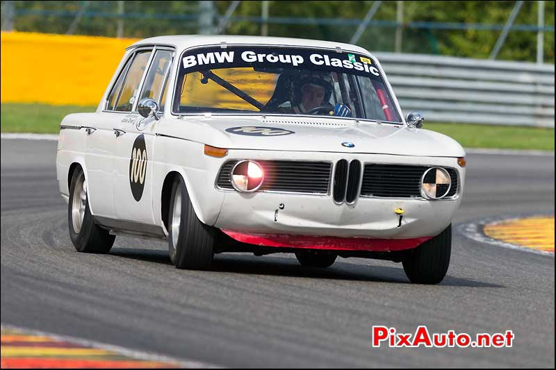 BMW 1800TI numero100, U2TC Spa-Francorchamps
