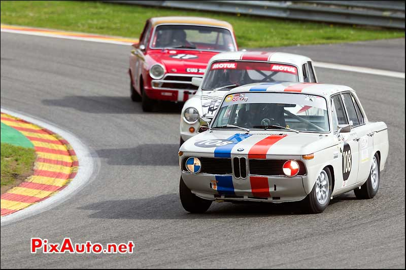 BMW 1800Ti numero108, U2TC Spa-Francorchamps