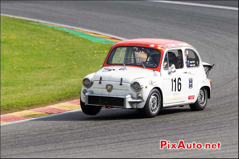 Fiat Abarth 1000TC, U2TC Spa-Francorchamps