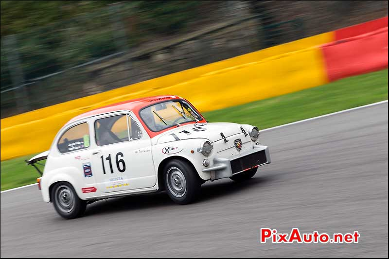 Fiat Abarth 1000TC numero116, U2TC Spa-Francorchamps
