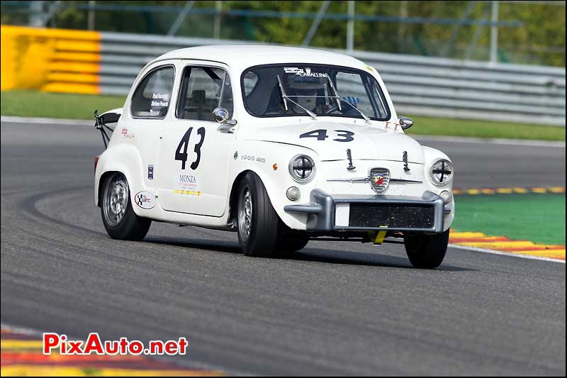 Fiat Abarth 1000TC Corsa, U2TC Spa-Francorchamps