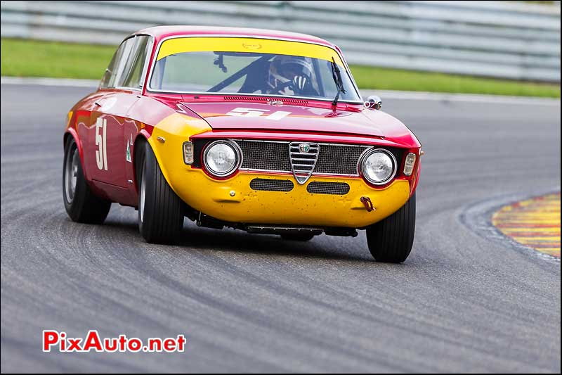 Alfa Romeo Giulia Sprint GTA, U2TC Spa-Francorchamps