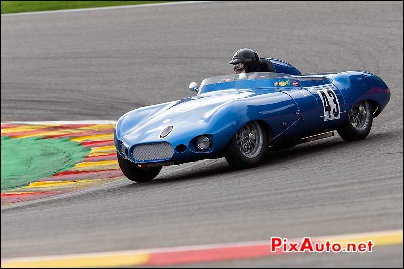 Elva Sportracer MK3 numero43, Stirling Moss Trophy, Spa-Francorchamps