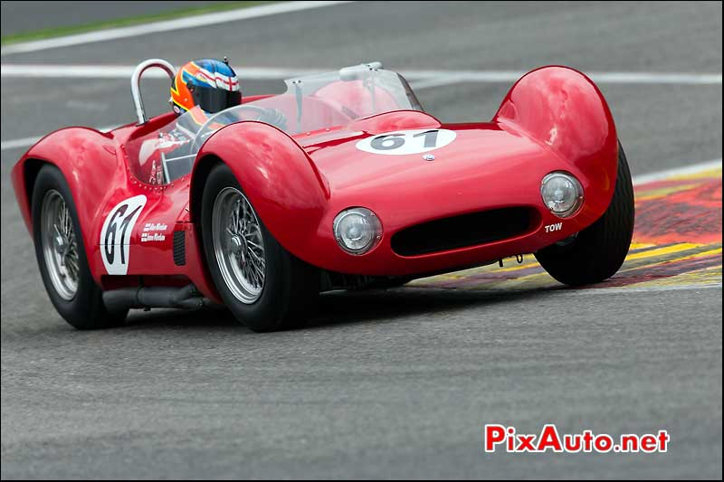 Maserati T61 Birdcage, Stirling Moss Trophy Spa-Francorchamps