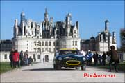 jaguar e-type, Chateau Chambord, Tour Auto Optic 2000
