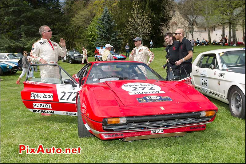 Ferrari 308, n272, Pesteils Tour Auto 2013