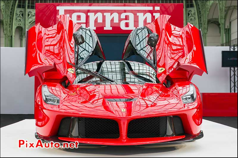 supercar, LaFerrari, portes ouvertes, Grand Palais Paris