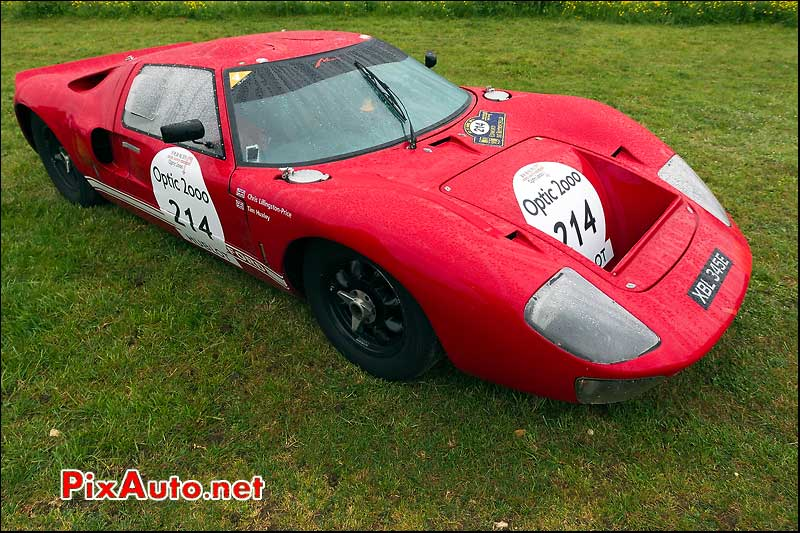 Ford GT40, n214, la Bourlie, Tour Auto 2013
