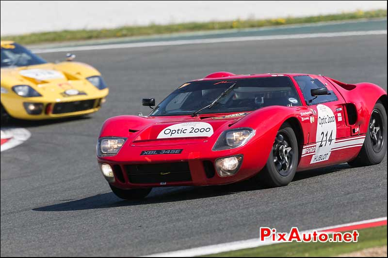 Ford GT40, n214, Circuit Magny-Cours Tour Auto 2013