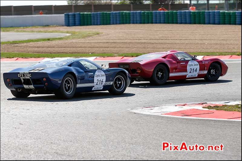 Ford GT40, n216, Circuit Magny-Cours Tour Auto 2013