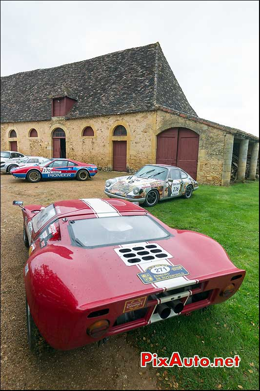 Ford GT40, n271, la Bourlie, Tour Auto 2013