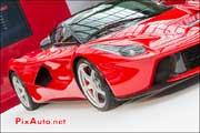 LaFerrari, 458 spider, stand Ferrari au Grand Palais