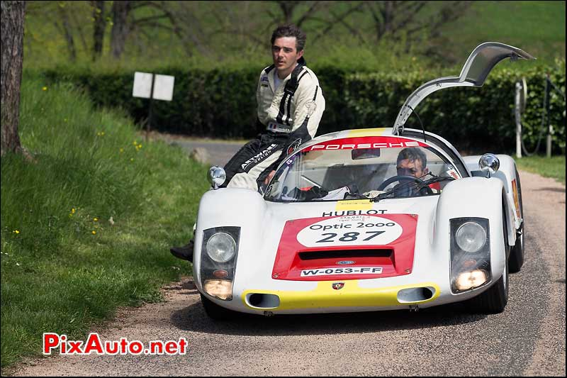 Porsche 906, n287, Pesteils Tour Auto 2013