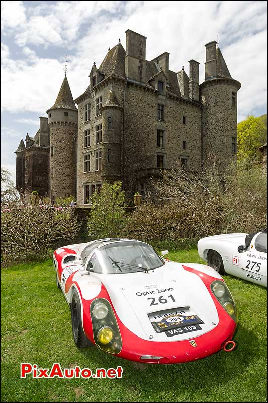 Porsche 910, n261, Pesteils Tour Auto 2013