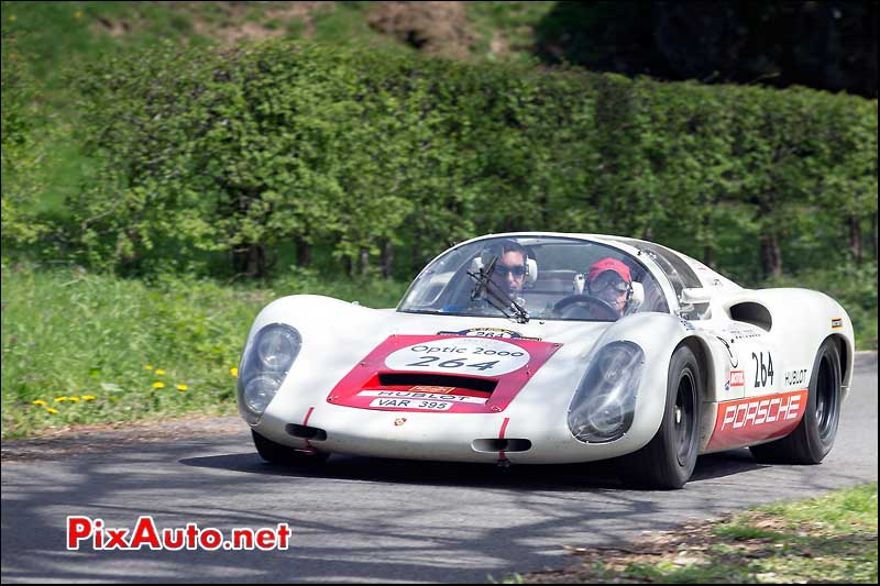 Porsche 910, n264, Pesteils Tour Auto 2013