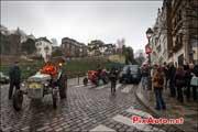 Traversee de Paris 2013, tracteurs devant clos montmartre