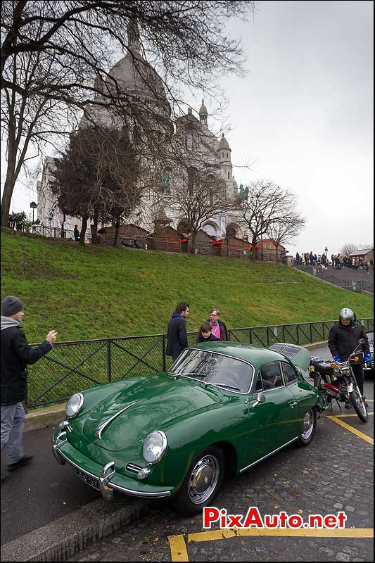 porsche 356, traversee de paris 2013