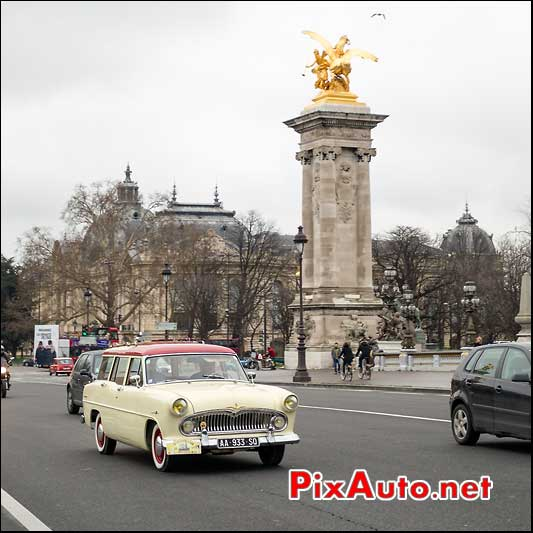simca vedette marly, pont alexandre III paris