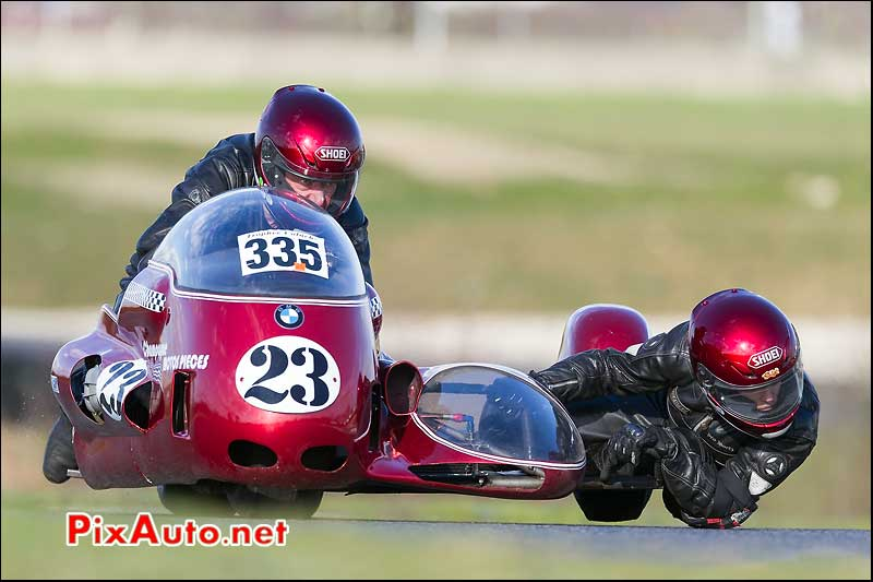 side-car n335, 16e trophee coluche circuit carole
