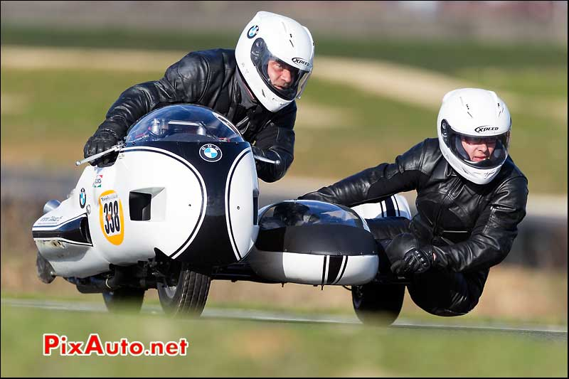 side-car n338, 16e trophee coluche circuit carole