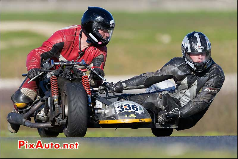 side-car n336, 16e trophee coluche circuit carole