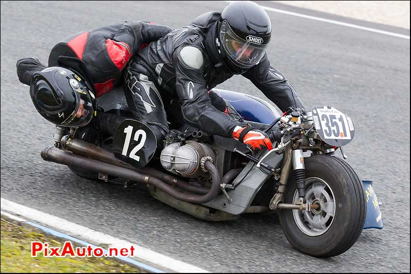 side-car n351, 16e trophee coluche circuit carole golf