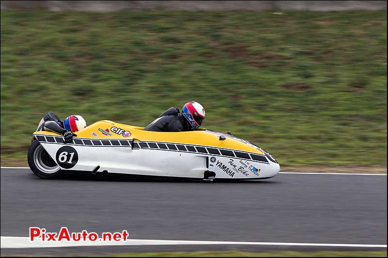 side-car n522, 16e trophee coluche circuit carole