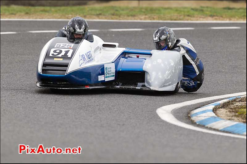 side-car n525, 16e trophee coluche circuit carole