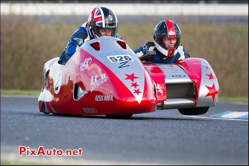 side-car n526, 16e trophee coluche circuit carole