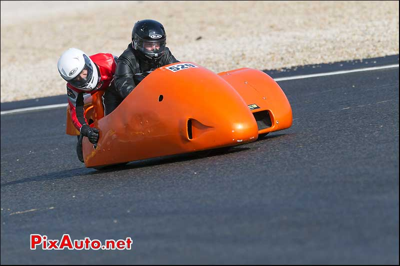 side-car n529, 16e trophee coluche circuit carole