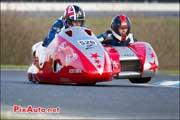 16e Trophee Coluche, circuit Carole, side-car F2 Suzuki-GSXR