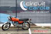 Trophee Coluche 2013, circuit Carole honda 125cg